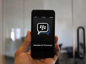 BB Messenger en iOS