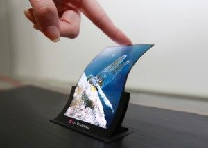 Display bendable LG