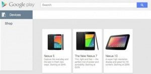 Google Play Nexus 5