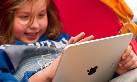iPad Niña
