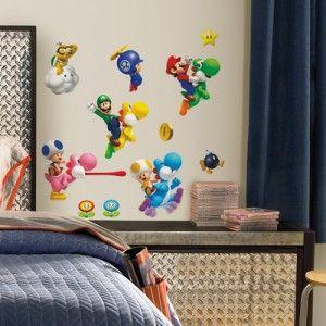 vinilo decorativo Super Mario