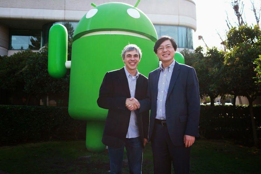 Lenovo Google Motorola