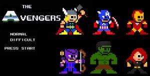 the avengers 8 bits