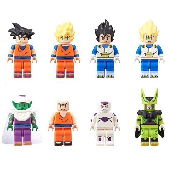 Dragon Ball Z Lego Figmes