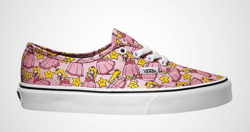 Princesa Toadstool Nintendo y Vans