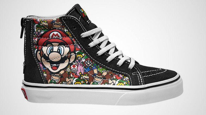 Mario Bros Nintendo y Vans
